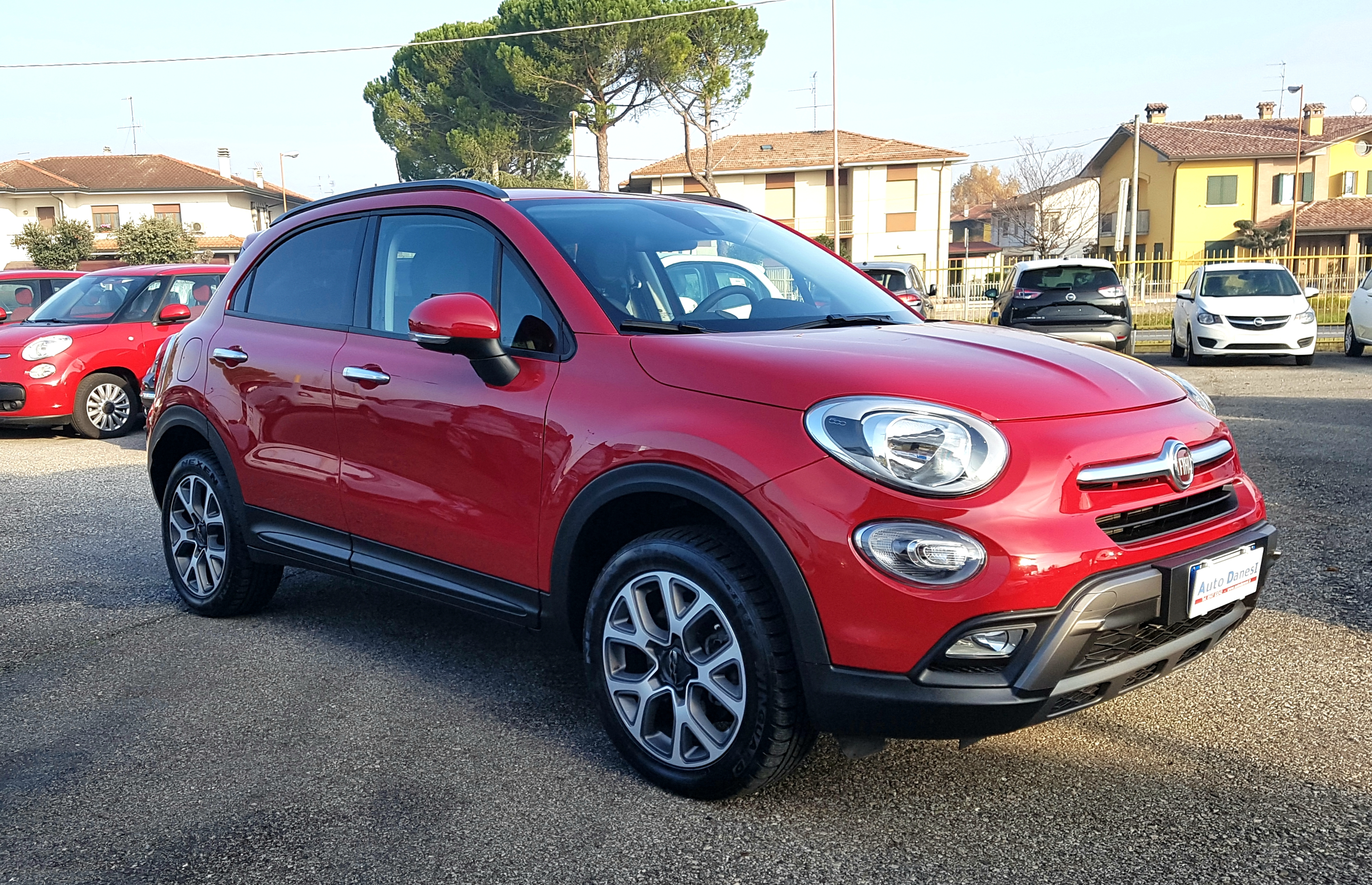 fiat 500x off road look 2 0 mjt 140cv 4x4 cross autodanesi vendita auto nuove e usate longiano. Black Bedroom Furniture Sets. Home Design Ideas